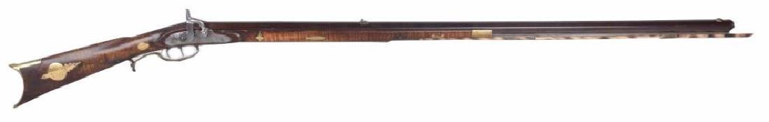 Percussion Lancaster Half Stock, .42 Rifle
