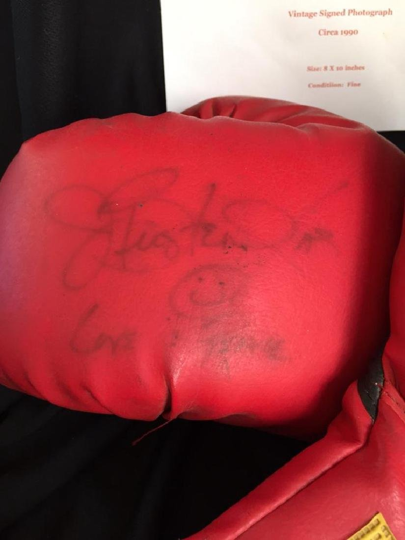 Authentic Buster Douglas Signed Boxing Gloves - 3