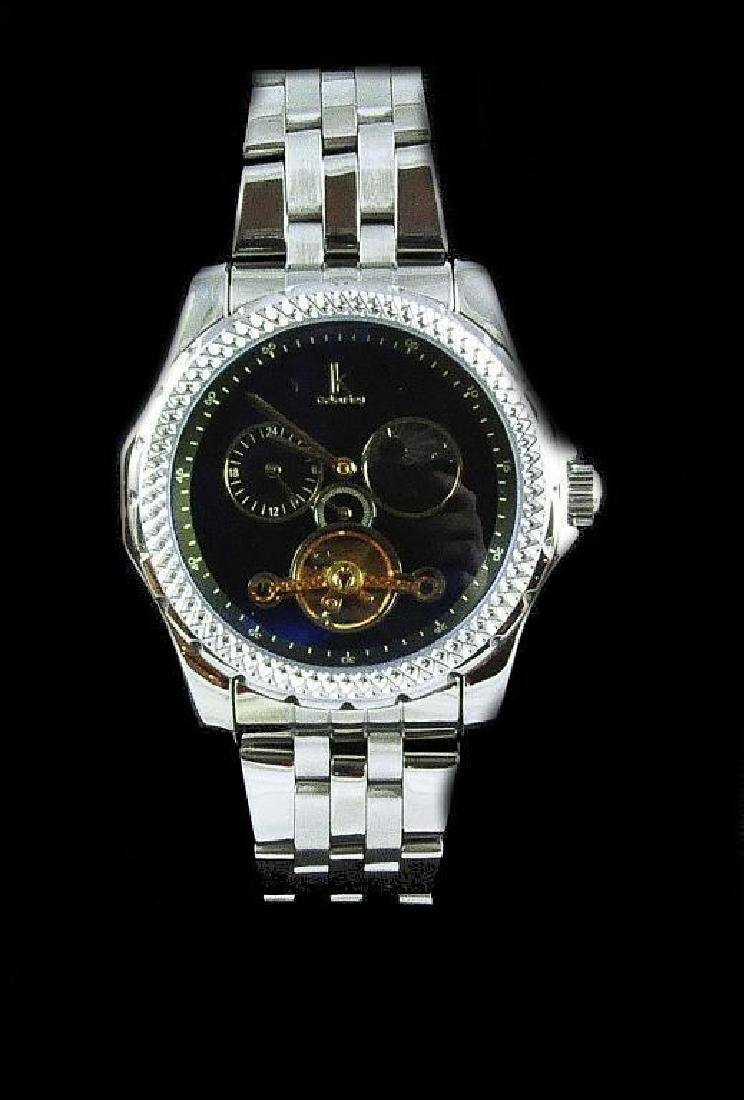 Men's Stainless Steel Automatic Wristwatch - 2