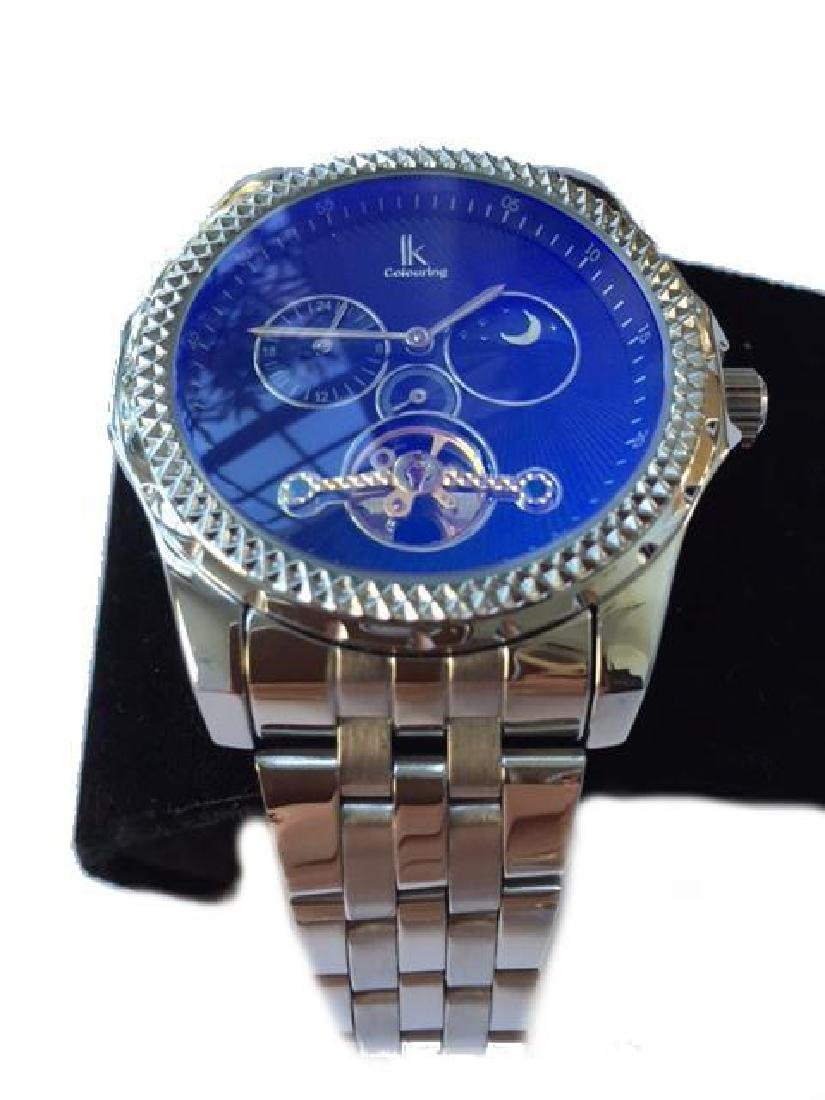 Men's Stainless Steel Automatic Wristwatch - 3