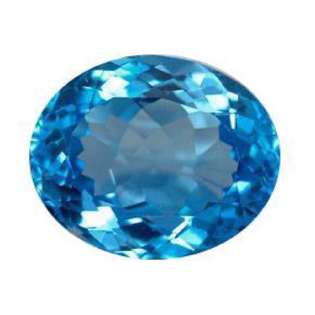 11.11ct Swiss Blue Topaz