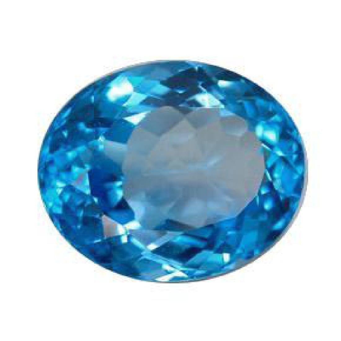 11.11ct Swiss Blue Topaz - 2