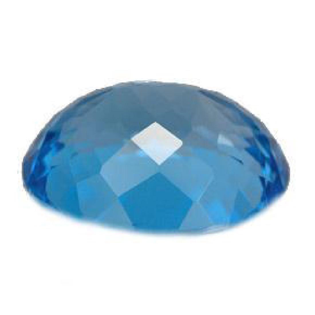 11.11ct Swiss Blue Topaz - 3