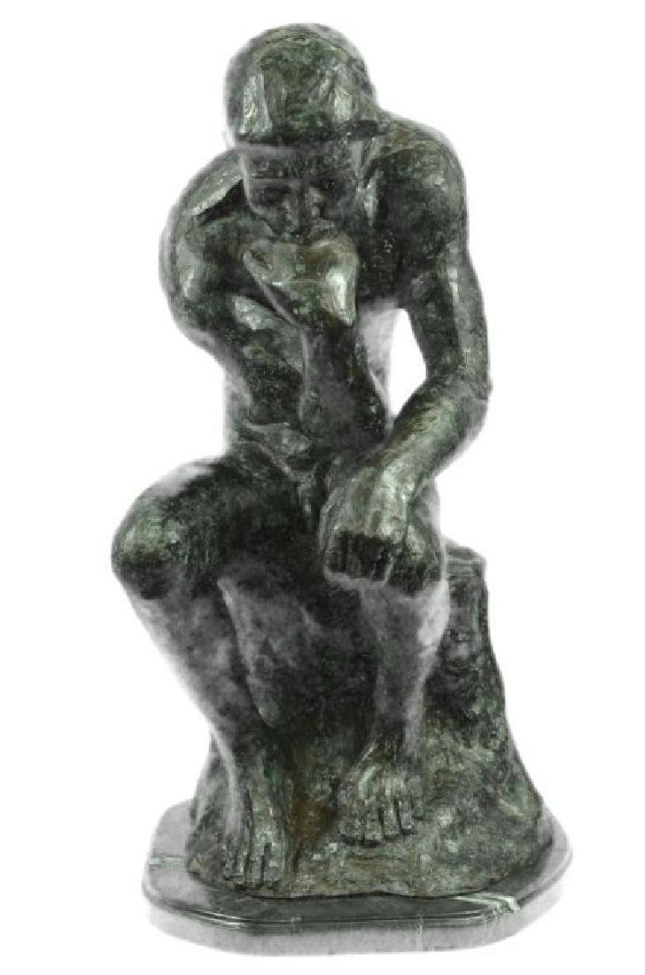 Massive Extra Large Rodin Thinker Famous Work Artwork