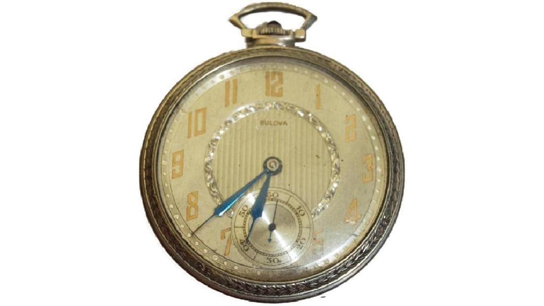 Bulova Gold Pocket Watch