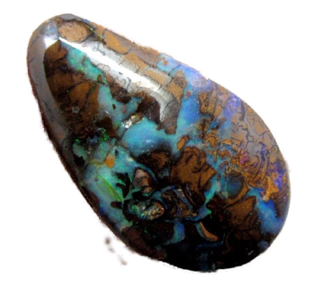 Solid Natural Yowah Opal - 14.8cts - 3