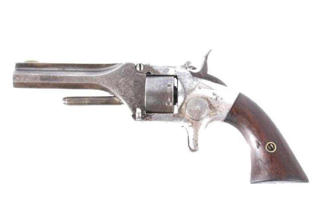 Engraved Manhattan Arms .22 Cal Pocket Revolver