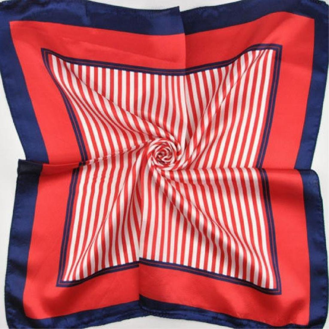 Ladies Patriotic Colors Silk Yachting Scarf - 3