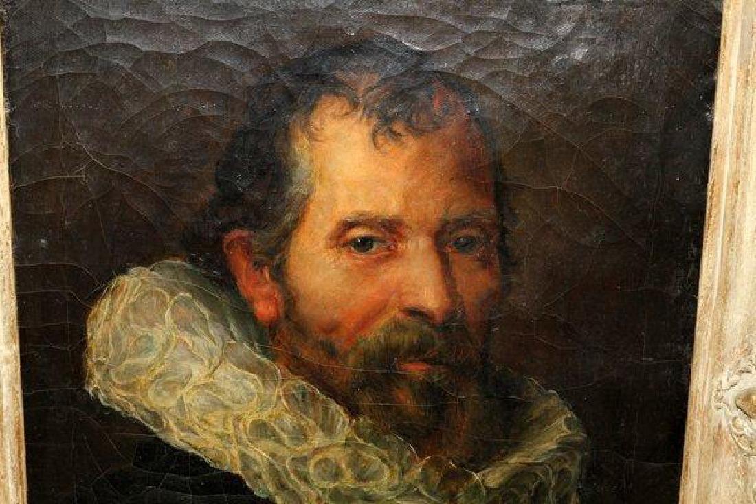 After Velazquez, Oil on Canvas, Portrait of a Man - 2