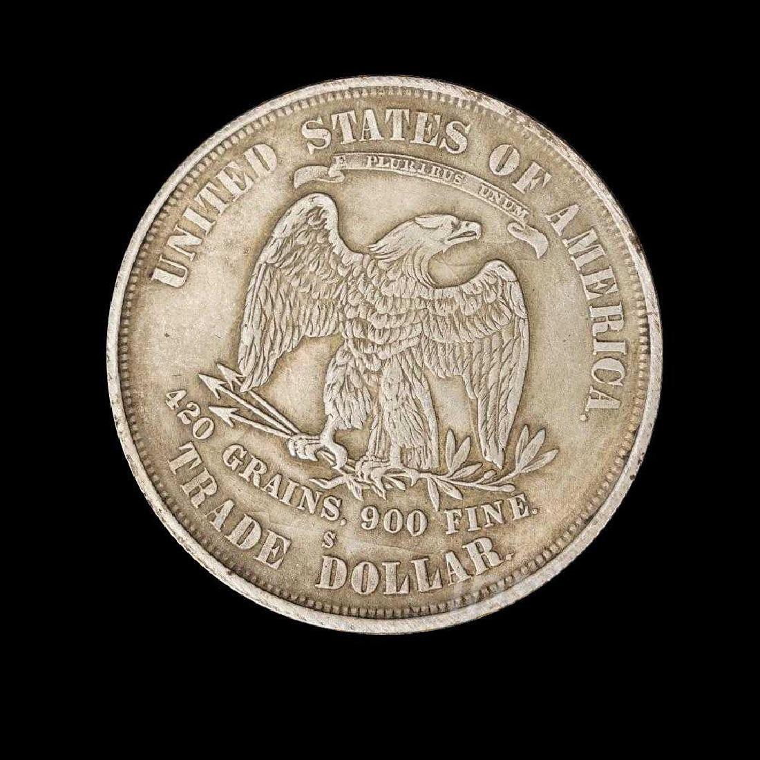 1875 United States Trade Dollar Commemorative Coin - 2