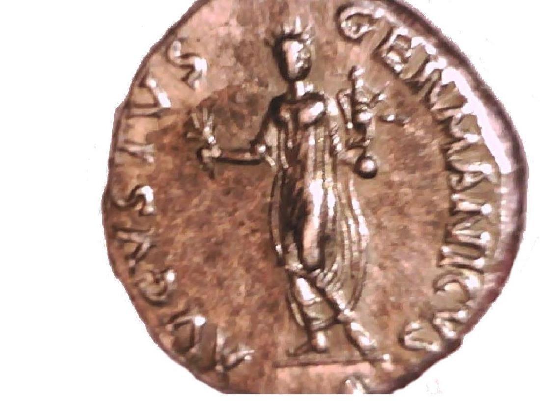 Roman Imperial Emperor Nero Colossus Statue Denarius - 7