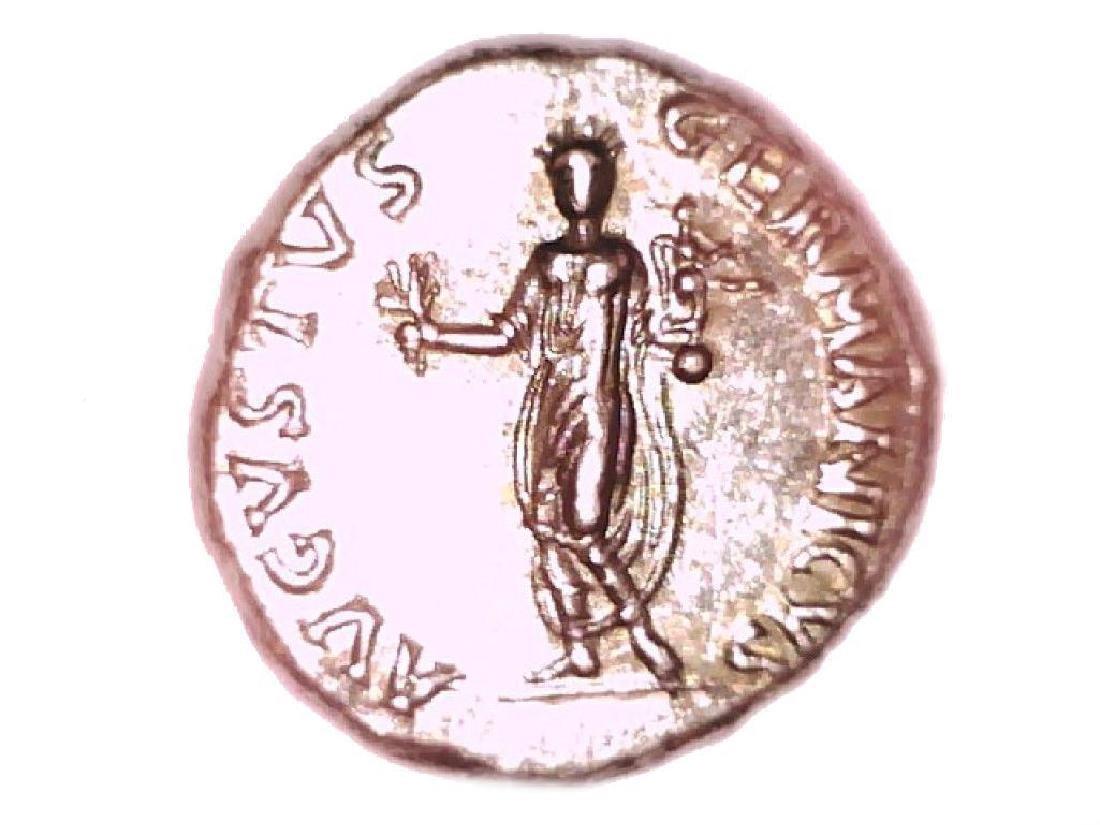 Roman Imperial Emperor Nero Colossus Statue Denarius - 9