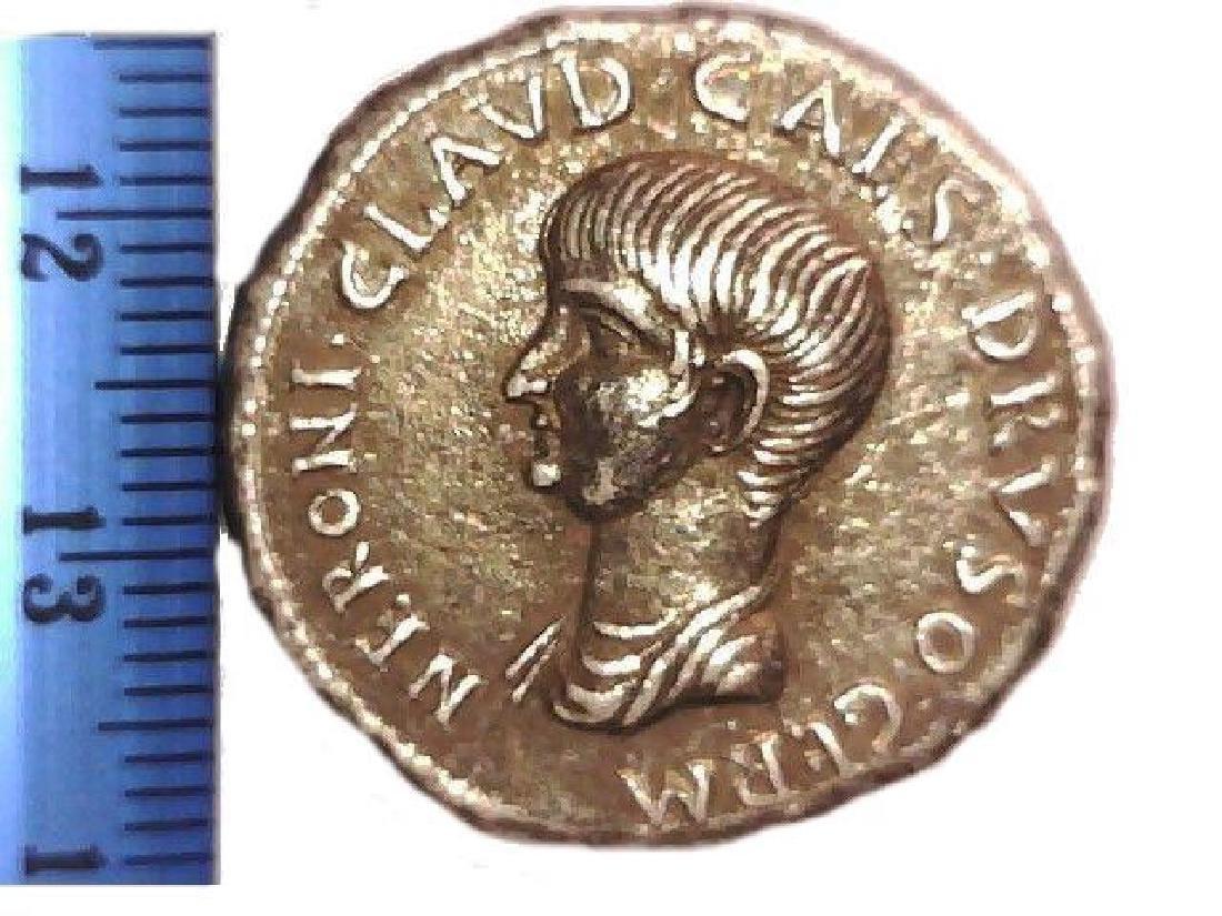 Roman Imperial Emperor Nero Cistophoric Tetradrachm - 7