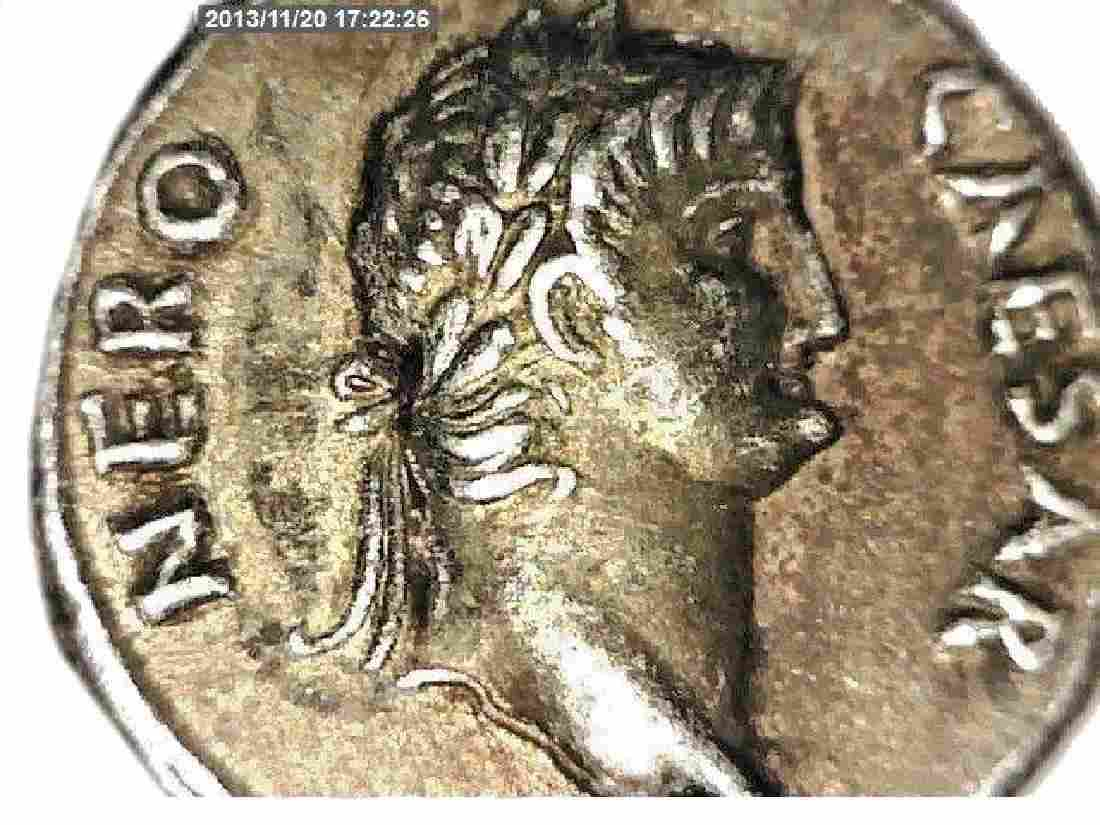 Vintage Copy Of Ancient Nude Roman Silver Coin. Coin