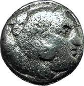 Alexander Iii The Great 323bc Authentic Ancient Silver