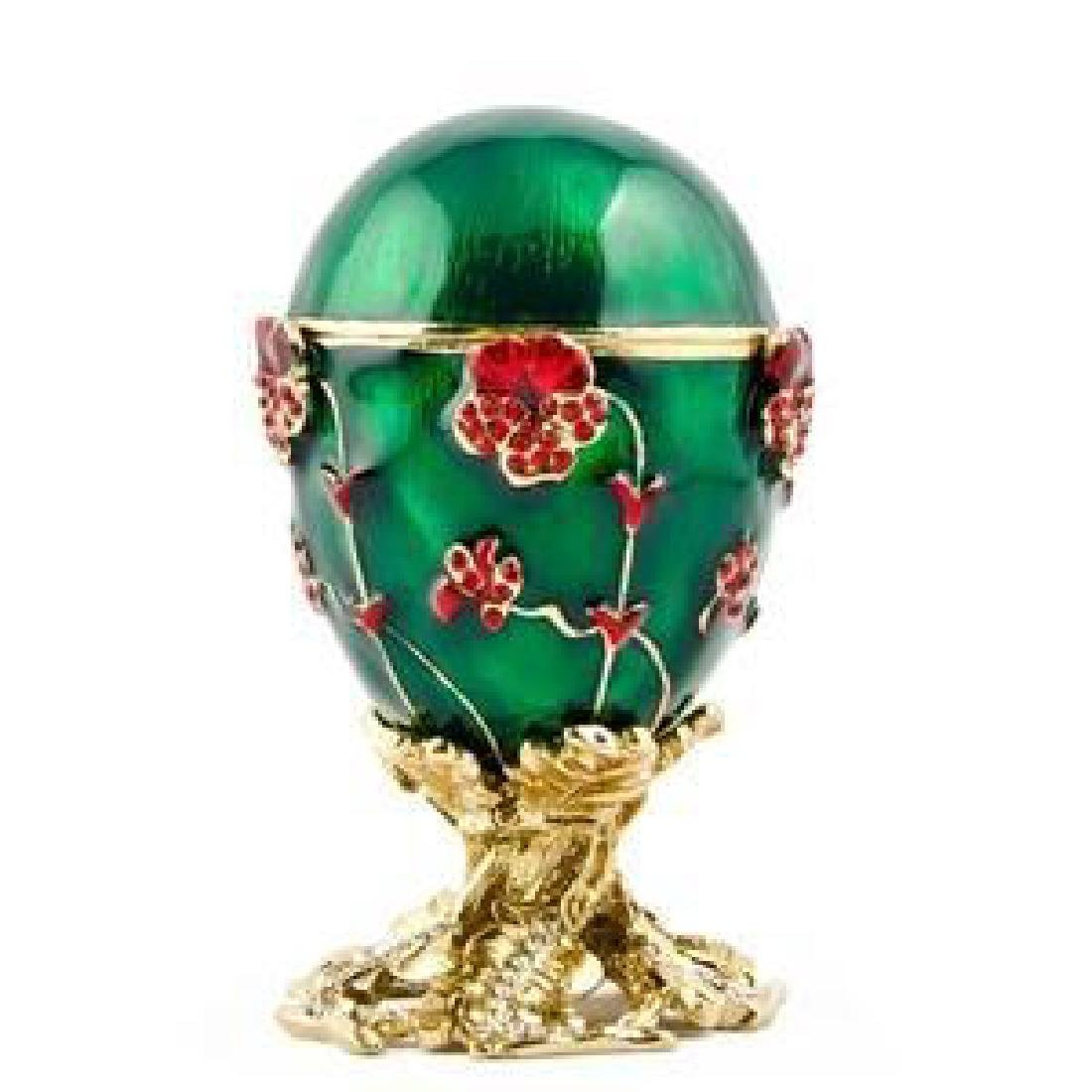 1899 Pansy Russian Faberge Egg