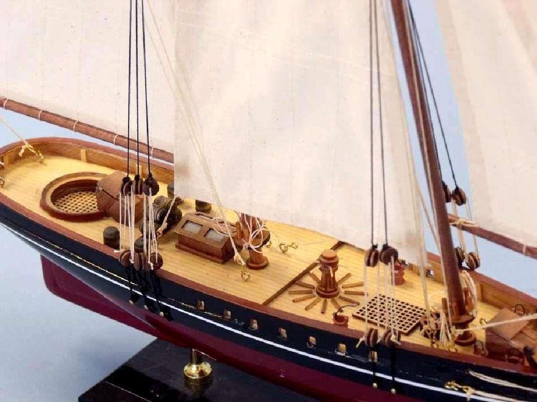 """Wooden America Limited Model Sailboat 24"""" - 7"""