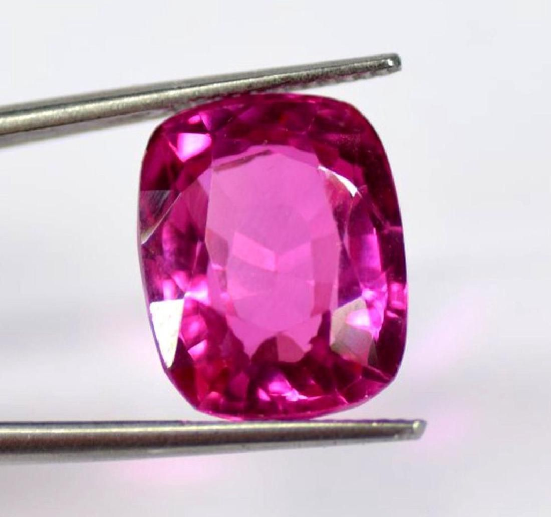 11.30 carat Natural Red Mozambique Ruby Certified Loose