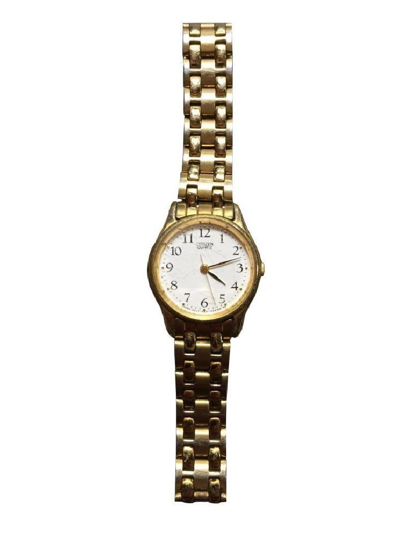 Citizen Quartz Gold Ladies Wristwatch
