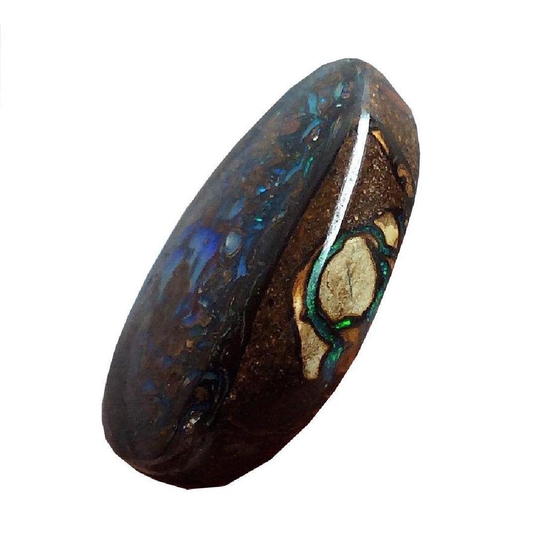 33.95ct Australian Koroit Boulder Opal Beautiful Color - 3