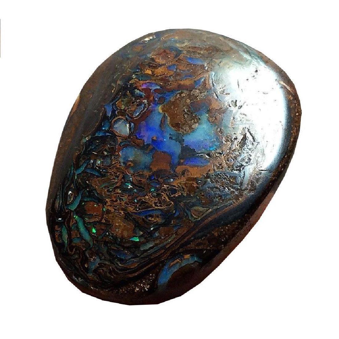 33.95ct Australian Koroit Boulder Opal Beautiful Color - 5