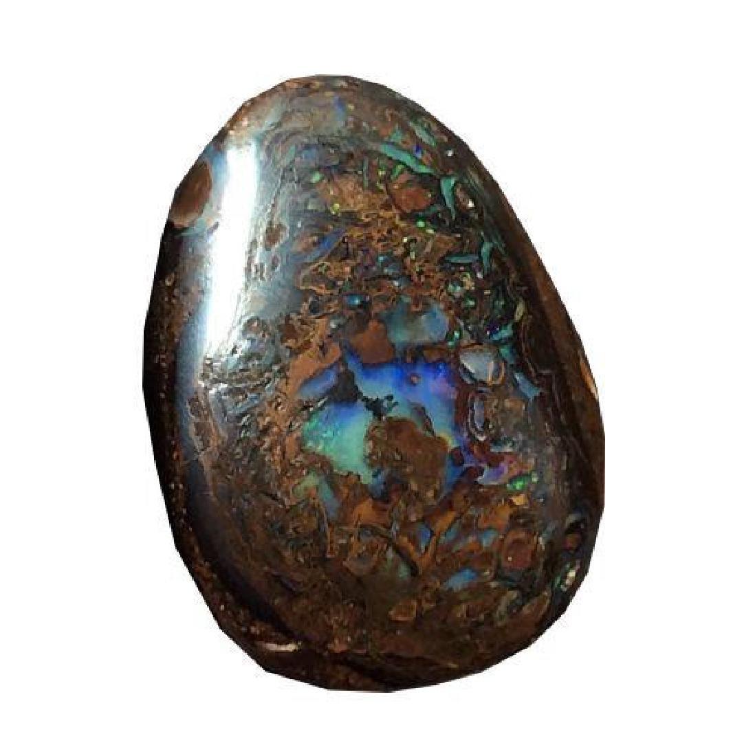 33.95ct Australian Koroit Boulder Opal Beautiful Color - 8