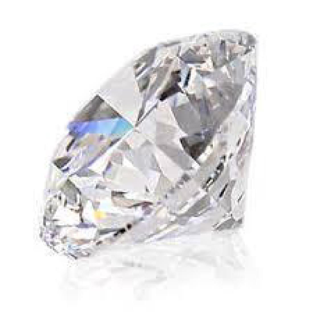 Round 4Ct. Bianco Diamond.