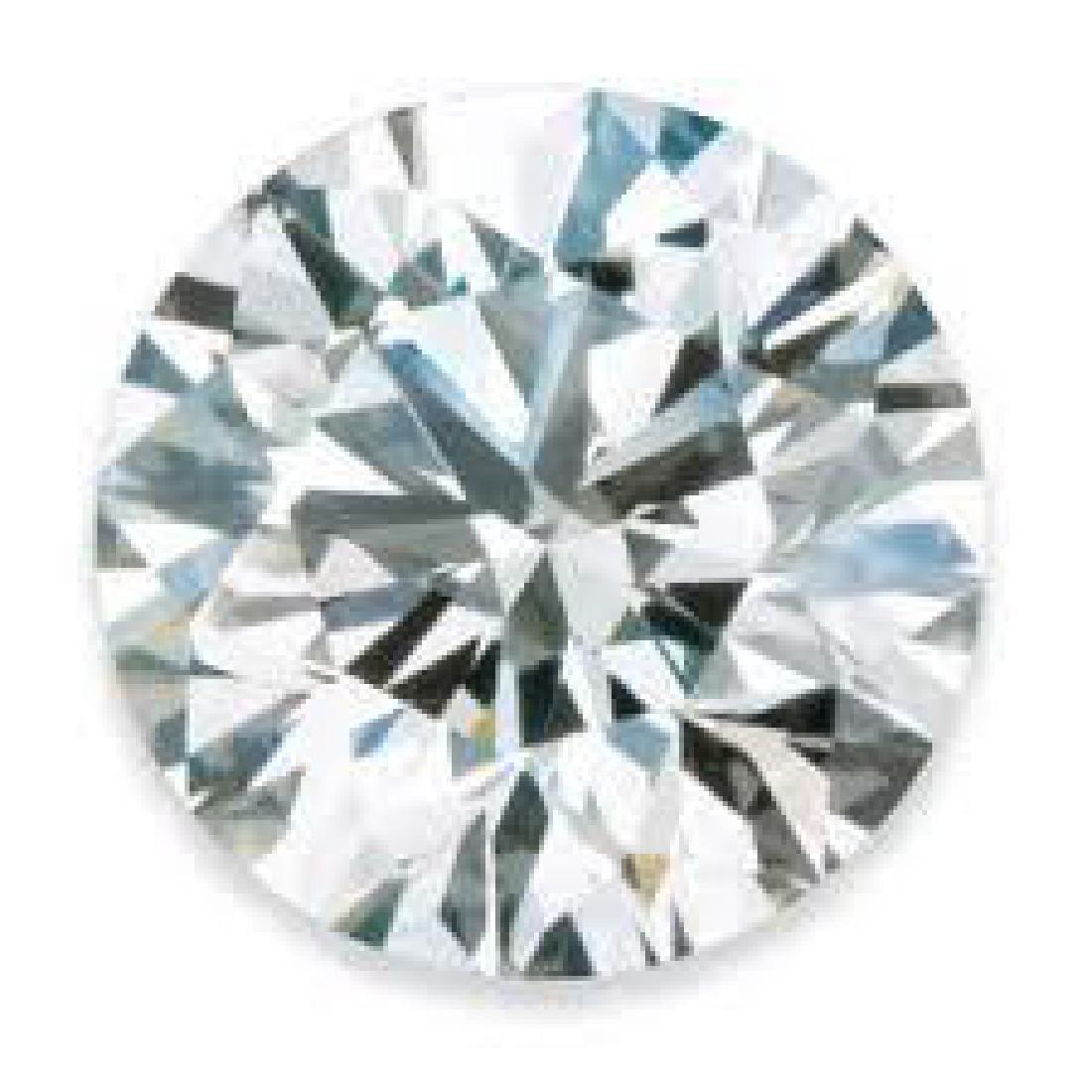 Round 4Ct. Bianco Diamond. - 2