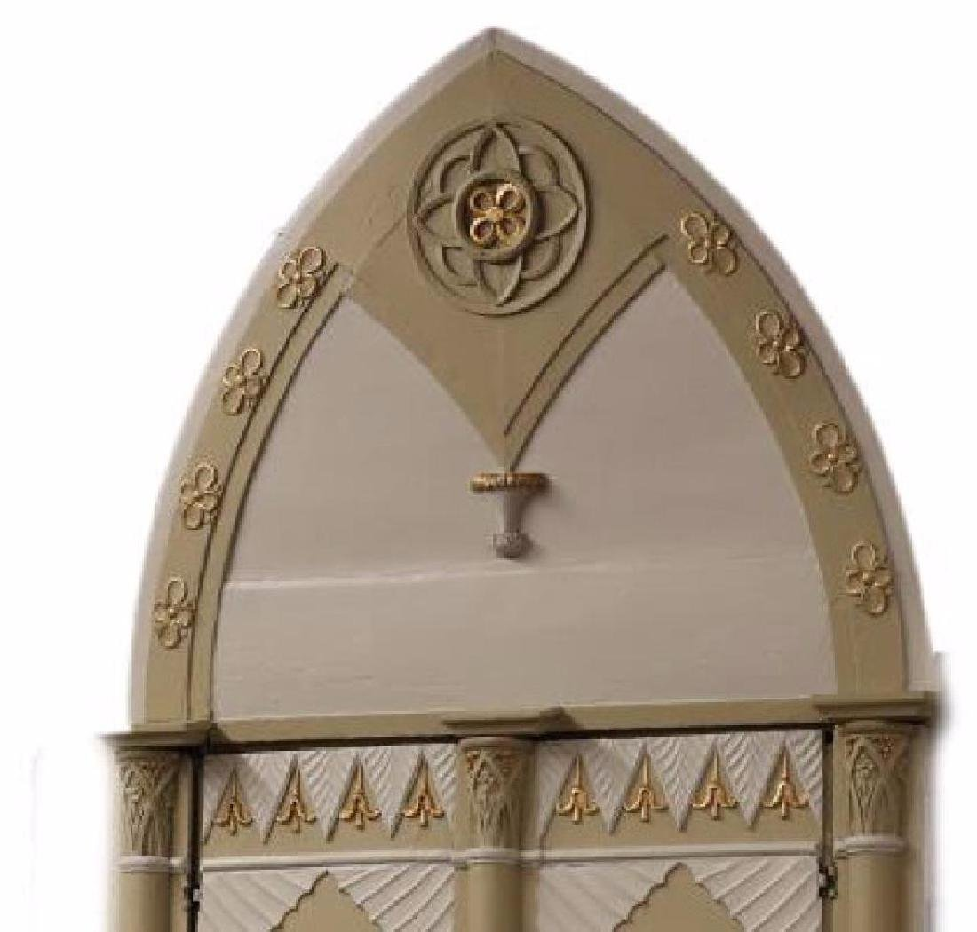 (2) Italian Gothic Revival Architectural Doors - 2