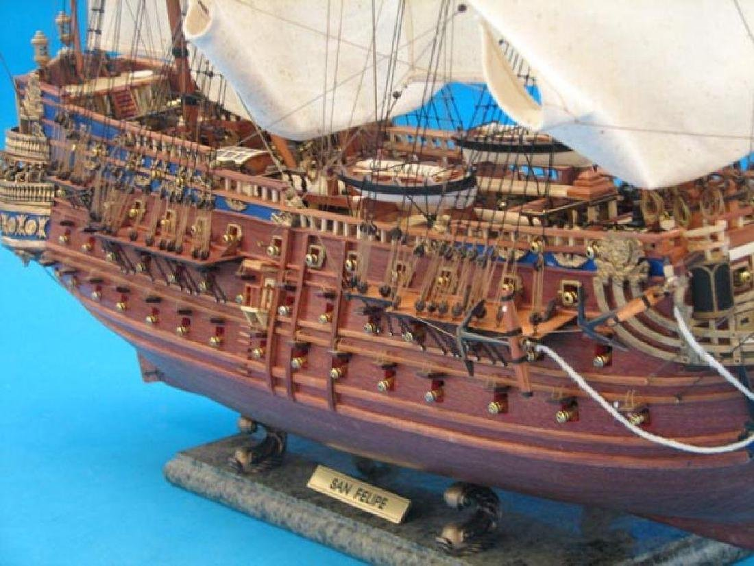"San Felipe Limited Tall Model Ship 38"" - 4"