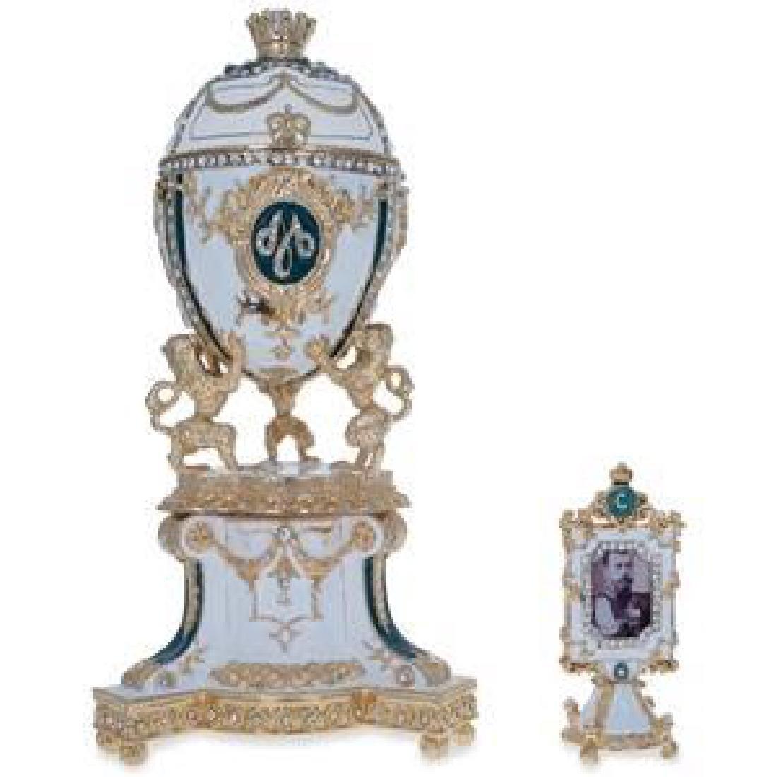 1888 Royal Danish Faberge Egg