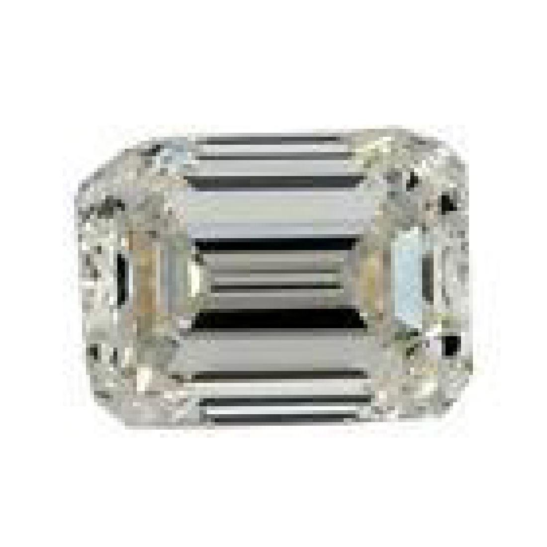 4.37 ct 10.55 x 9.25 mm Emerald Off White Yellow Loose