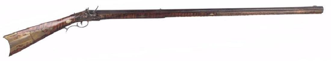 Kentucky Full Stock Flintlock .50 Caliber Rifle
