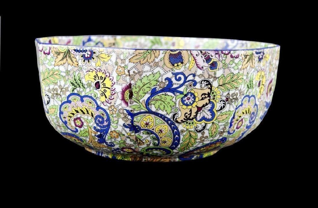 Aesthetic Paisley & Floral Porcelain Bowl