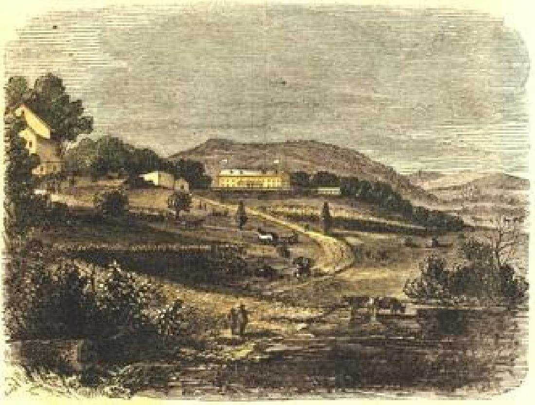 Freedman's Farm School Harper's Weekly 1867.