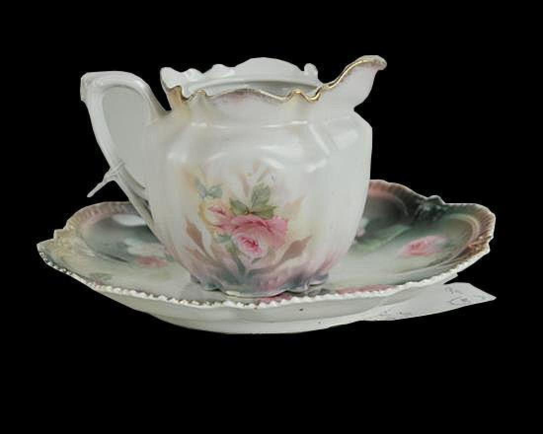 R.S. Prussia Teapot & Plate