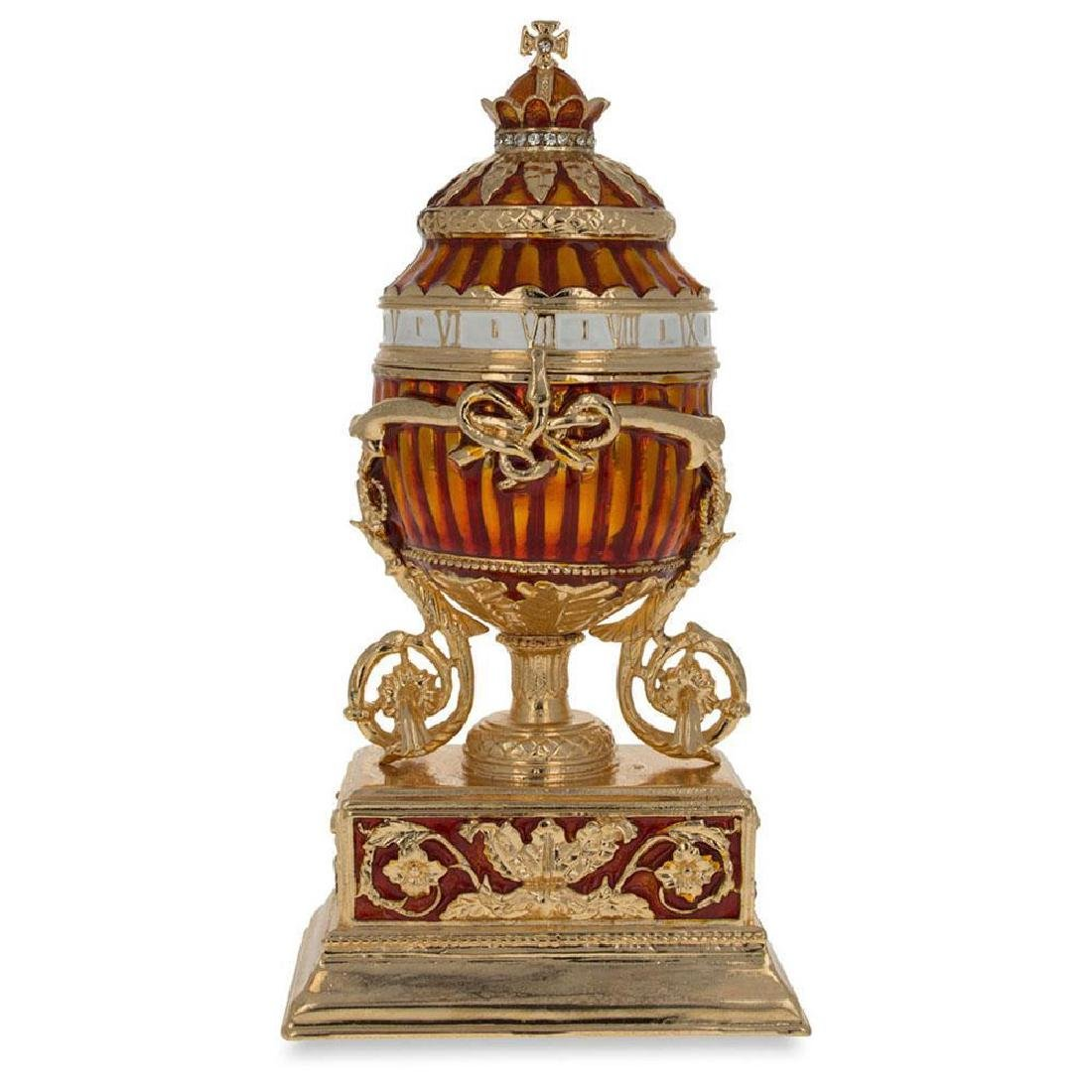 1899 Bouquet Of Lilies Clock Faberge Egg