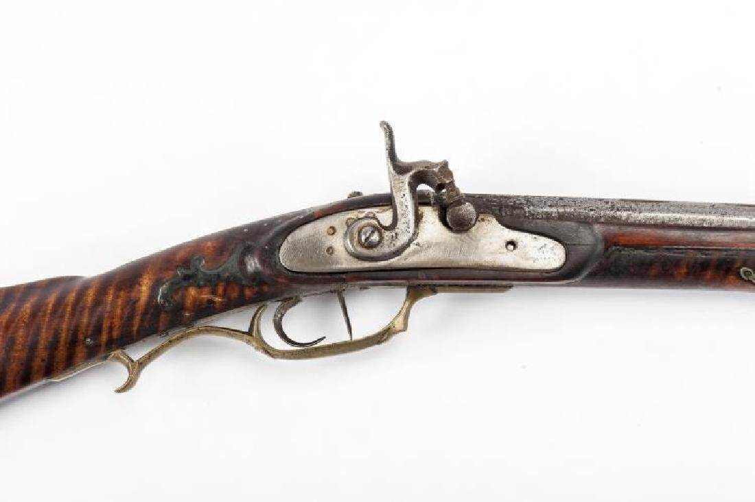 Unmarked Kentucky Percussion Rifle