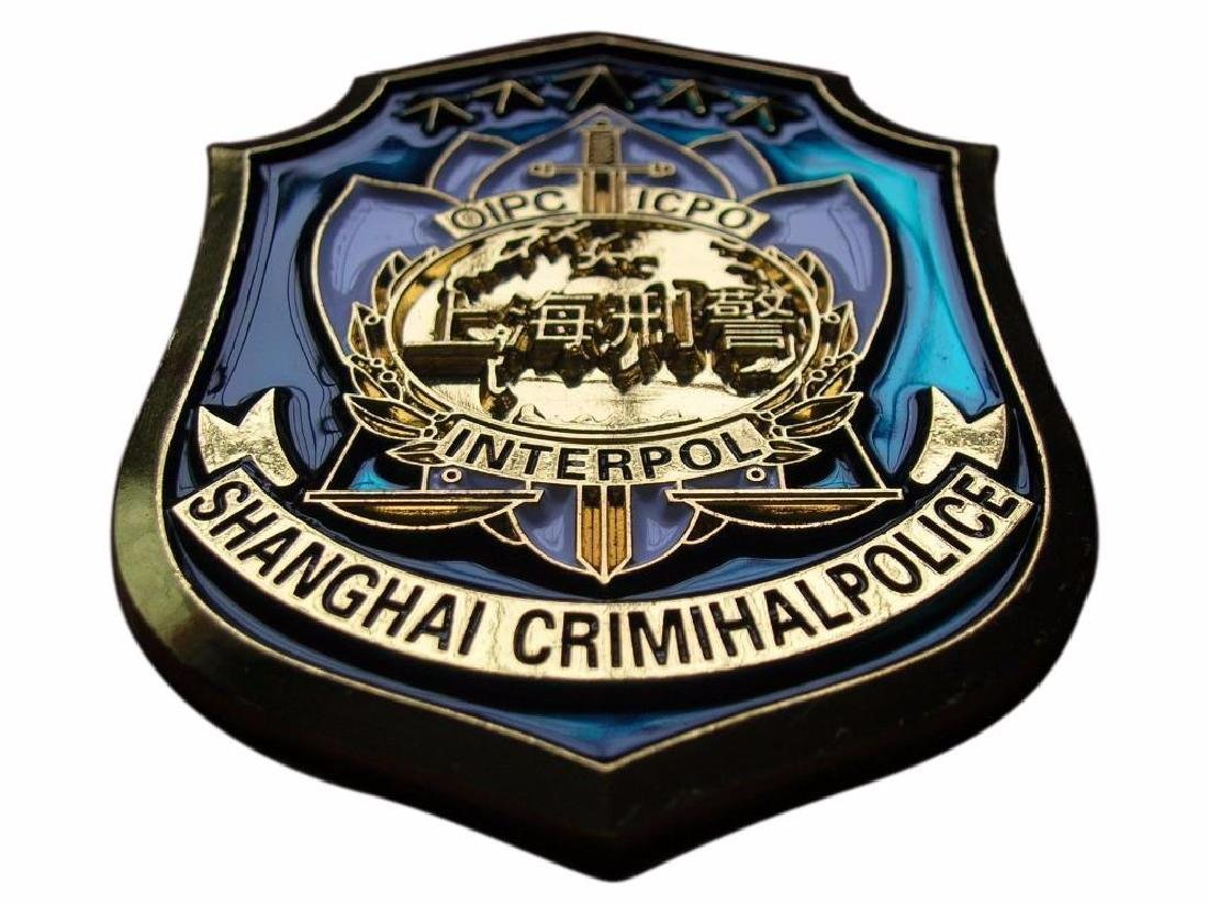 Shanghai City Crimihal Police,China,ICPO,Interpol