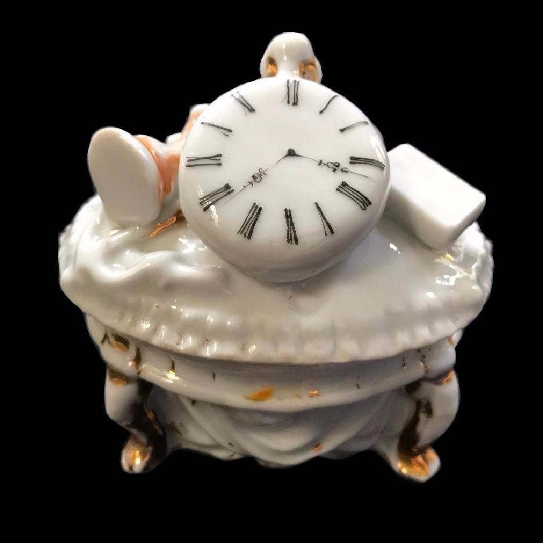 Set of Three Mid 19thc Continental Porcelain Fairing - 4
