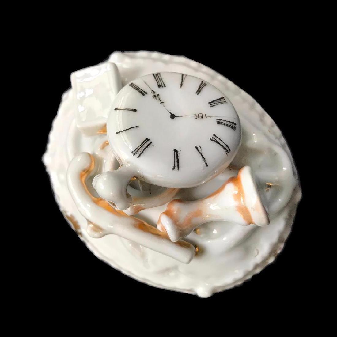 Set of Three Mid 19thc Continental Porcelain Fairing - 7