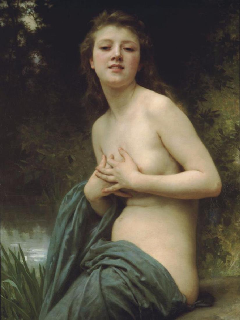 6 X 8 Art Bouguereau Spring Breeze Ceramic Mural