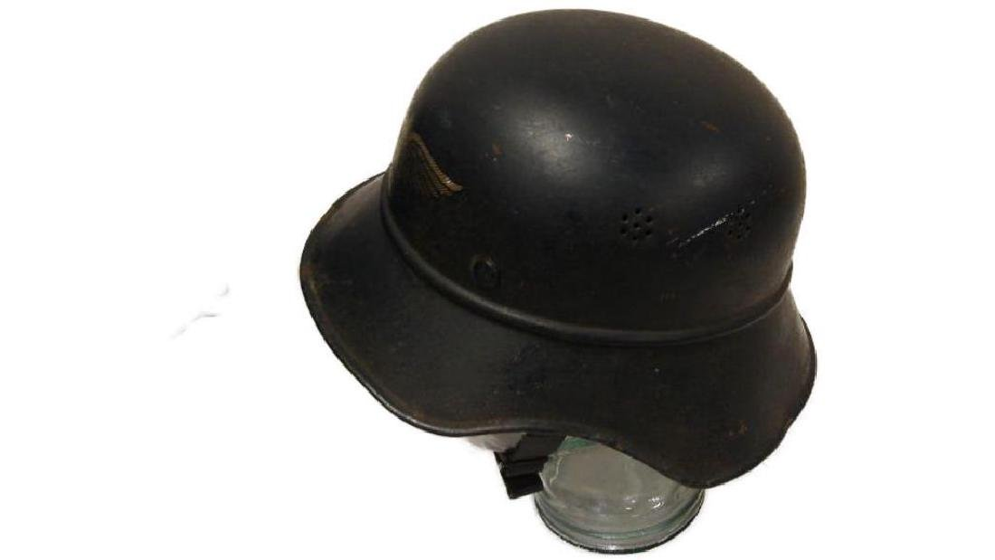 WWII Nazi German Luftschutz Helmet - 5
