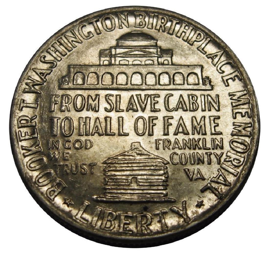 1946 Booker T Washington Silver Commemorative Half - 2