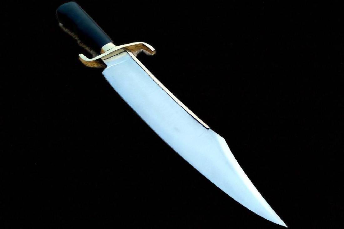 """Damascus Knife Making Custom Handmade - 19"""" Carbon"""