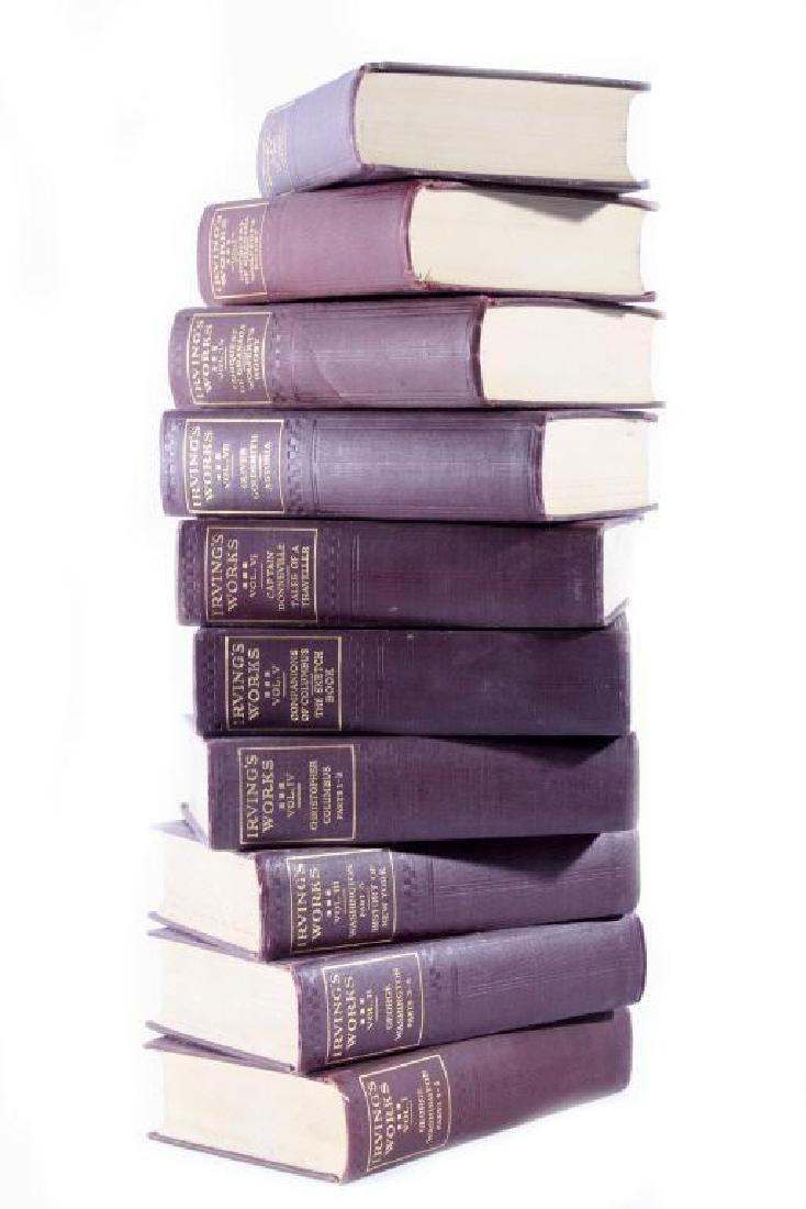 The Works Of Washington Irving Ten Volume Set