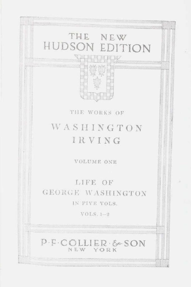 The Works Of Washington Irving Ten Volume Set - 6