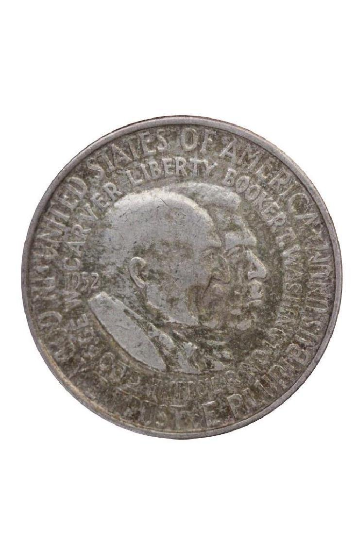 1952 P George Carver Booker T Washington Half Dollar