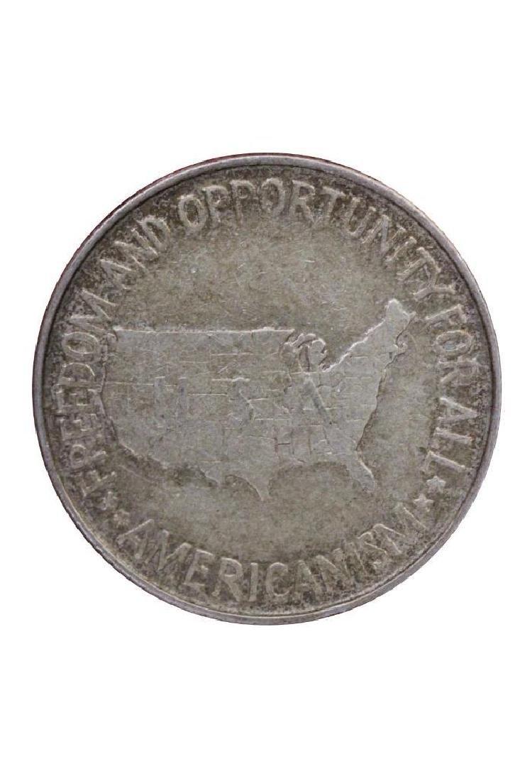 1952 P George Carver Booker T Washington Half Dollar - 2