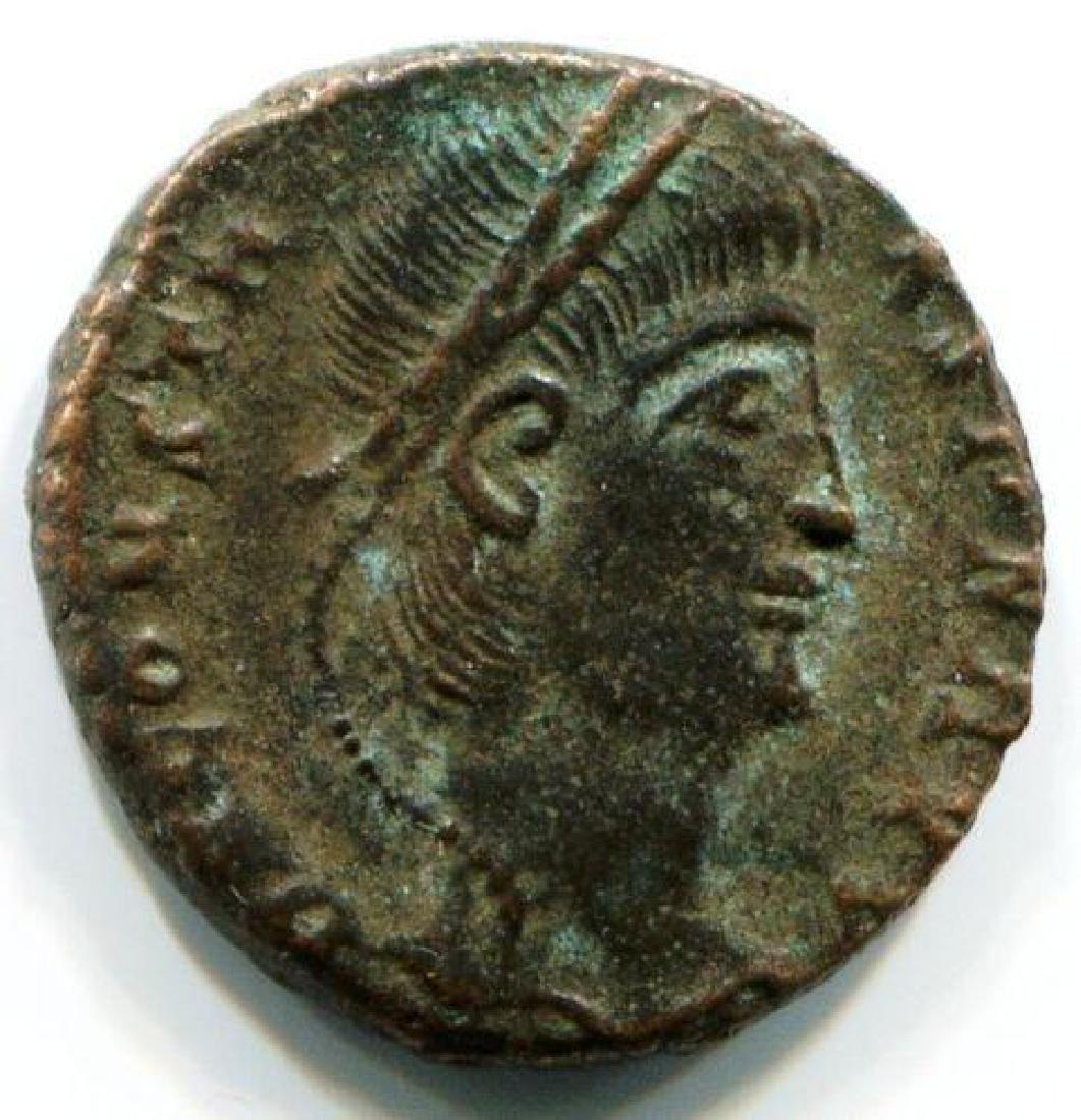 Ancient Bronze Museum Coin, Ihnasyah Hoard